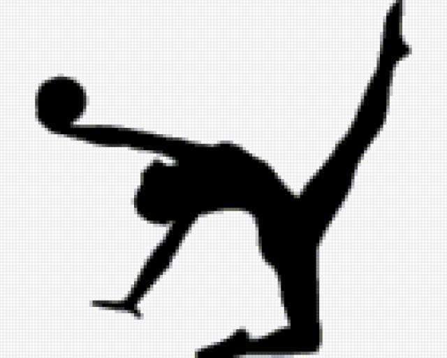 Гимнастка, предпросмотр