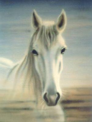Белая лошадь (худ.