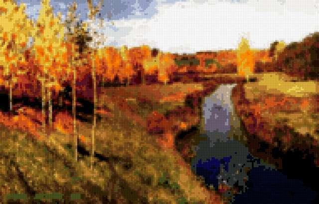 Золотая осень - Левитан