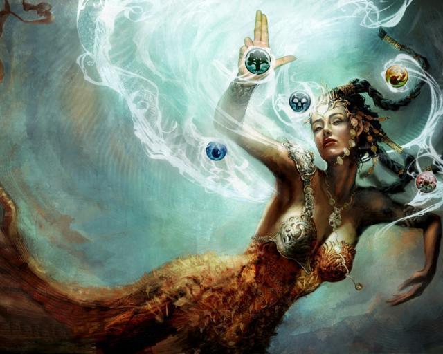 Королева океана, девушка