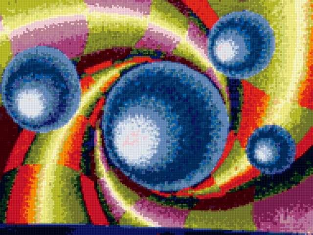 Вышивки крестом схемы абстракция