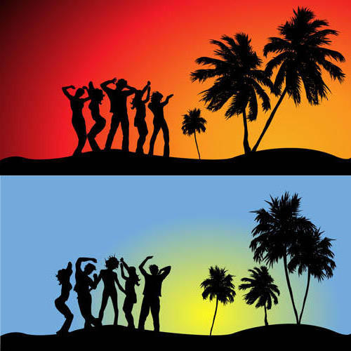 Танцы у пальмы, оригинал
