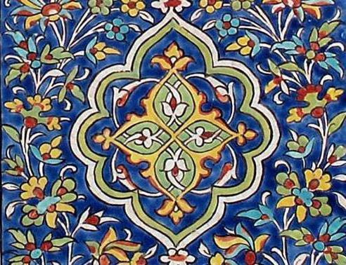 Восточный орнамент, оригинал