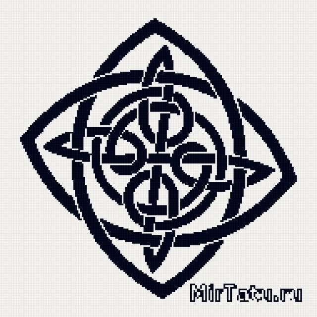 Кельтские узоры, разное, узор