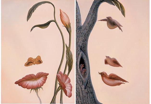 Девушка-цветок+девушка-дерево,