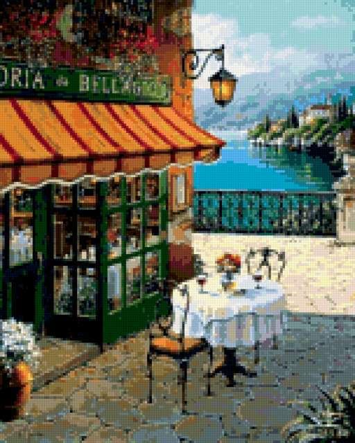 Кафе у моря, предпросмотр