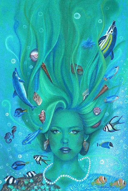 Женщина-водоросли, оригинал