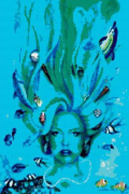 Женщина-водоросли