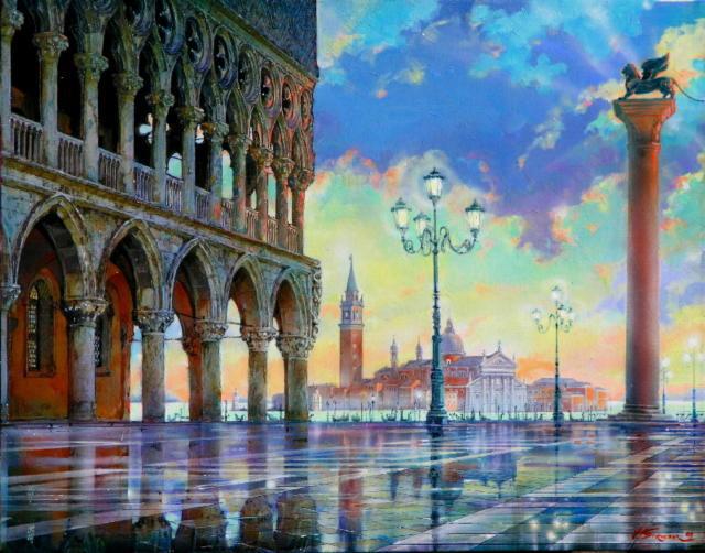 Венеция, венеция, город