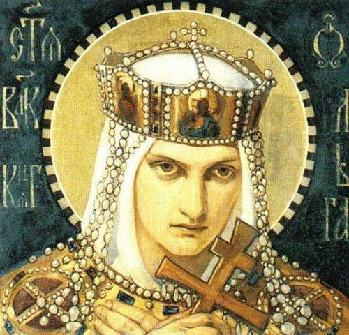 Княгиня Ольга, оригинал