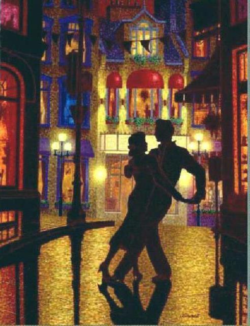 Танец в ночи, оригинал