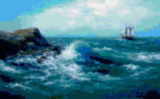 Синеее море, предпросмотр