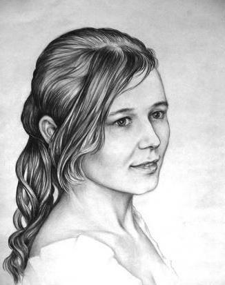 девушка, красивая, лицо