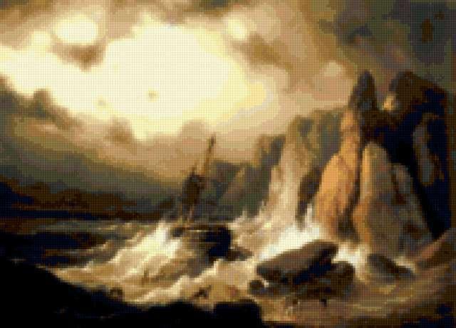 Айвазовский, пейзаж, картина