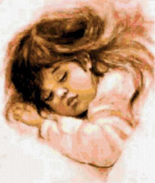 К схеме вышивки «Сладкий сон»