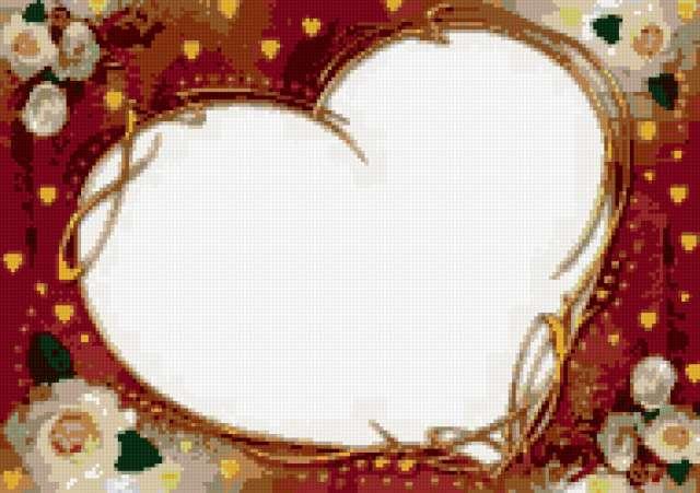 Рамка-сердечко, предпросмотр