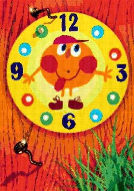Часы детские, предпросмотр