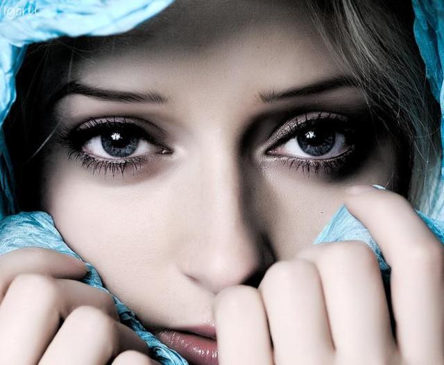 Глаза, женщина, восток, глаза