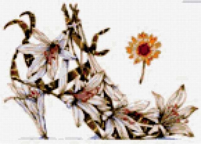 Цветочный туфель, предпросмотр