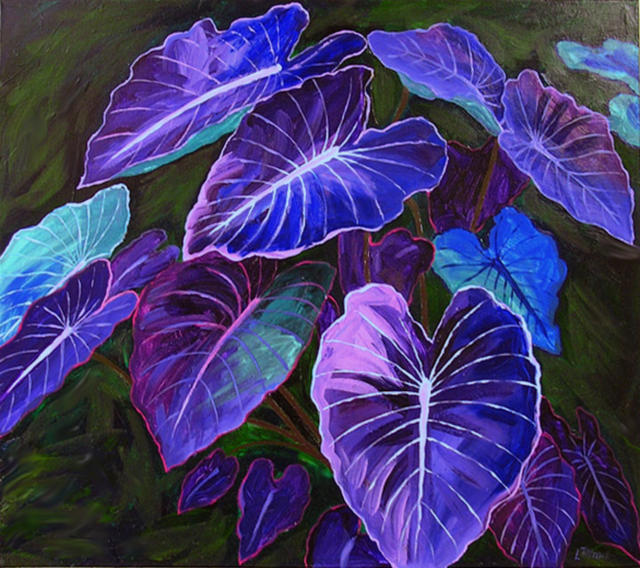 Purple Leaves, природа