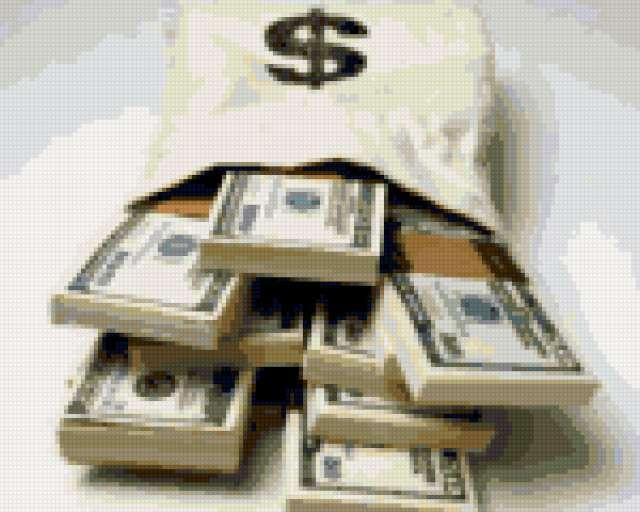 Мешок долларов, предпросмотр