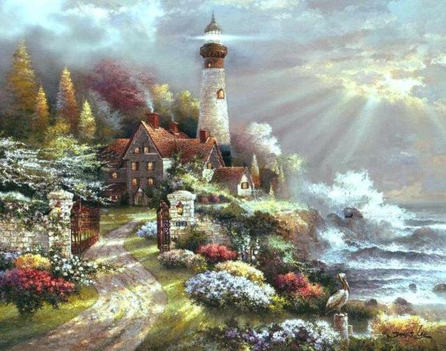 Серия маяки, оригинал