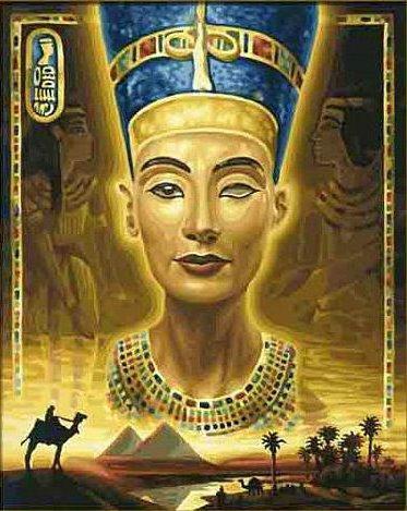 Царица Нефертити, оригинал