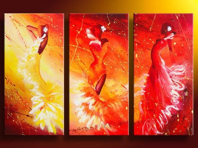 Триптих фламенко, оригинал