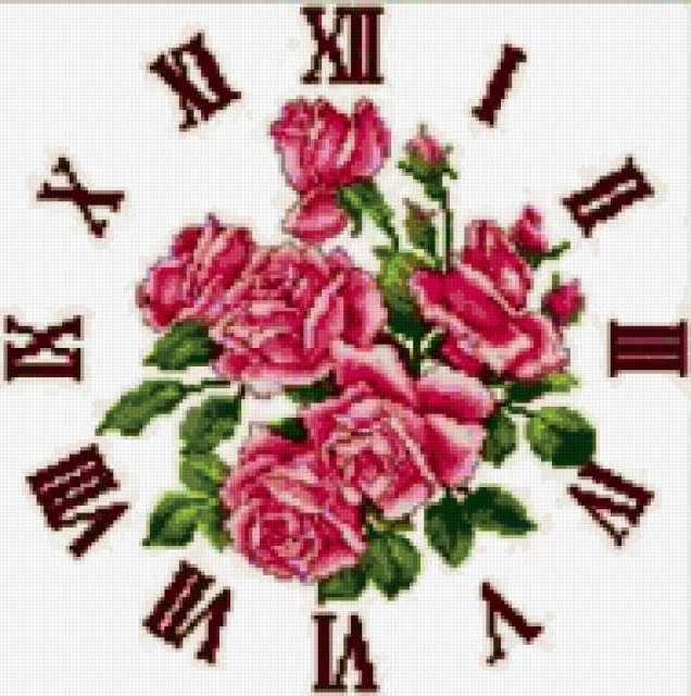 Букет роз-часы, предпросмотр