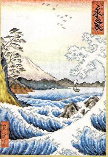 Море в японском стиле,