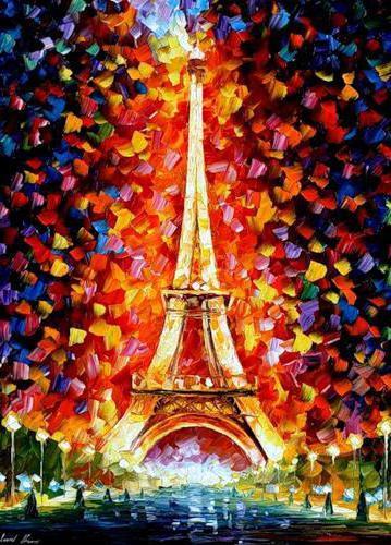 Париж, картина, пейзаж, париж,