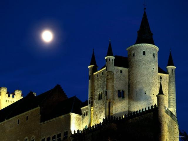 Старый замок..., города,