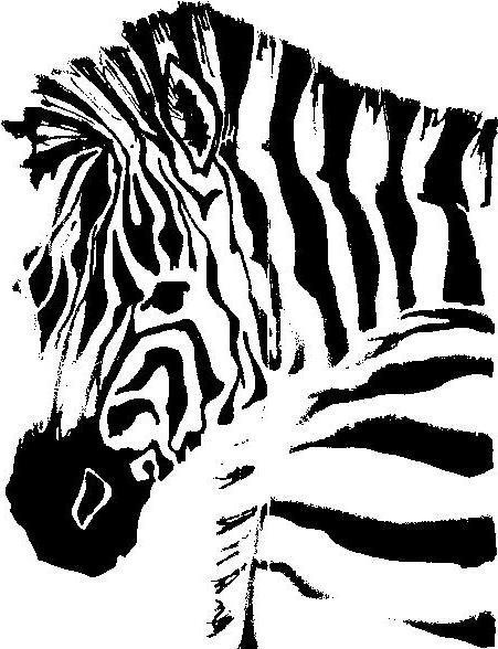 схему вышивки «зебра 2».