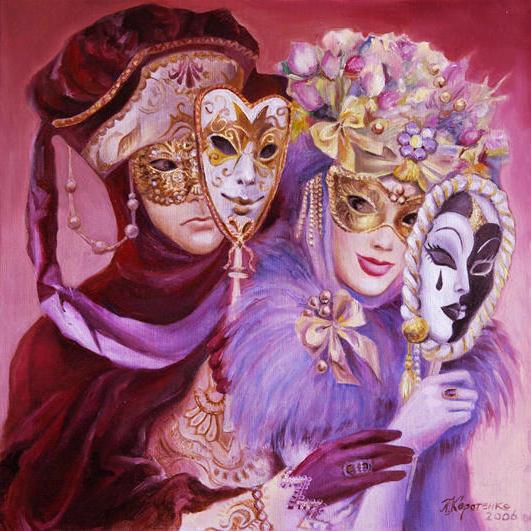 Маски, маски, карнавал