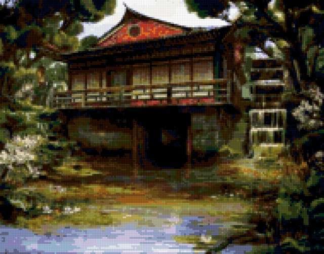Дом в китайском стиле,