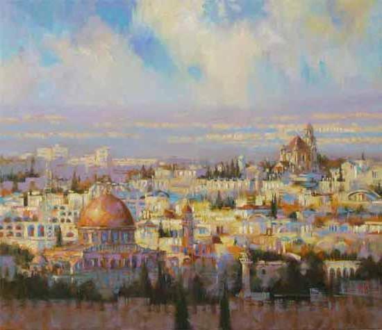 Иерусалим, живопись, искусство