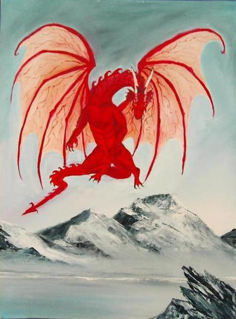 Red Dragon, фентези