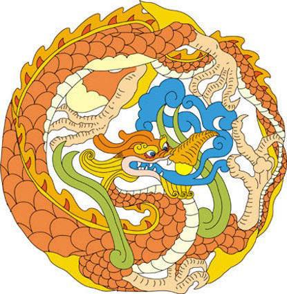 Китайский дракон, оригинал