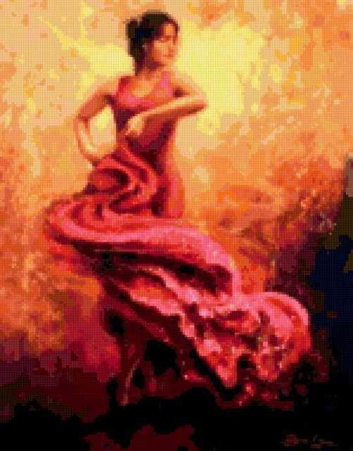 Испанский танец, предпросмотр