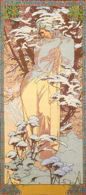 Mucha - Winter, �������, ��������