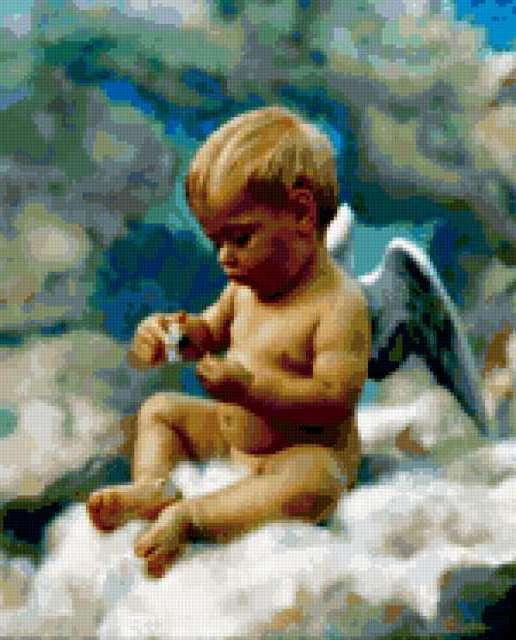 Ангел в облаках, предпросмотр