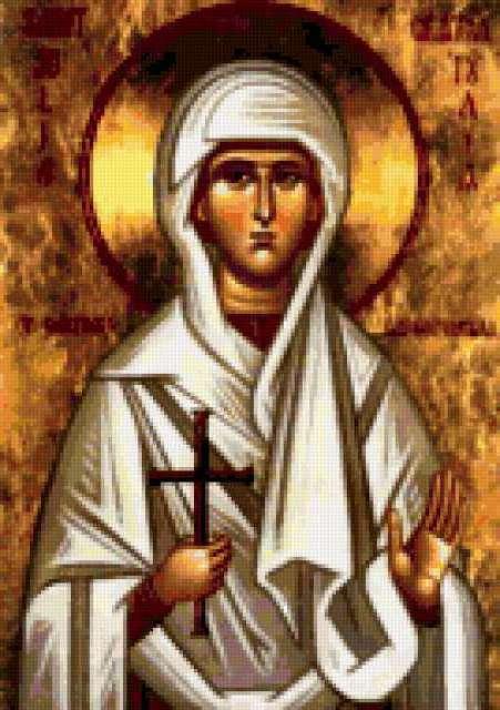 Святая мученица Иулия (Юлия),