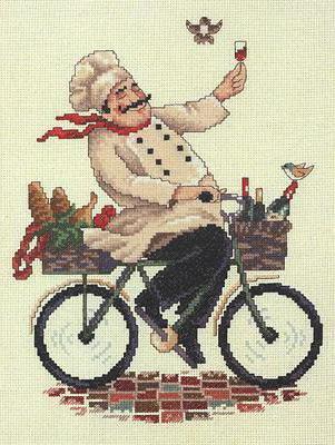 Повар на велосипеде, оригинал