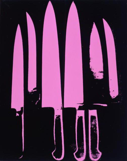 Andy Warhol - Knives, натюрморт