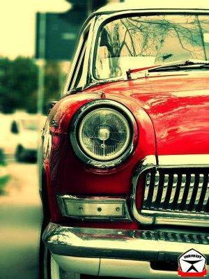Ретро автомобиль, оригинал