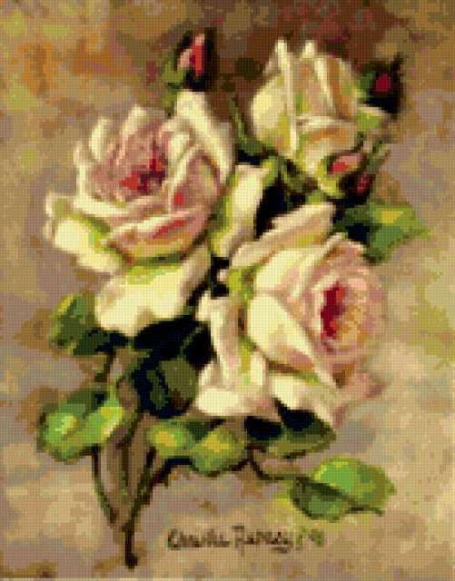 Чайные розы, предпросмотр
