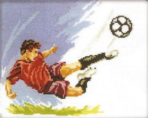 Схемы вышивок о футболе