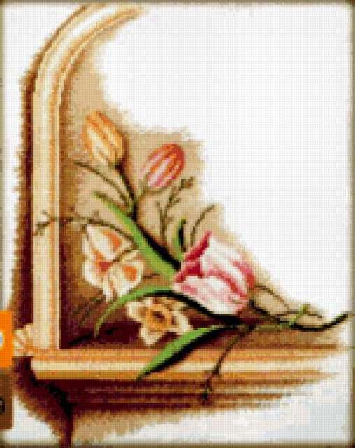 Античные цветы, предпросмотр