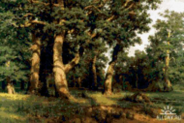 Картины Шишкина, предпросмотр