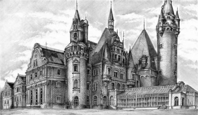 Архитектура. Замок, оригинал